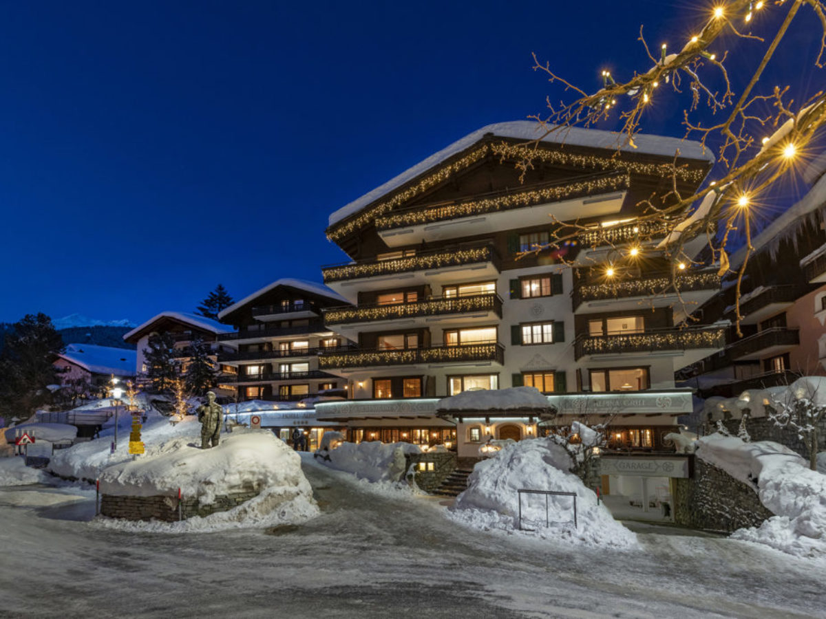 Hotel Alpina Klosters, Winter