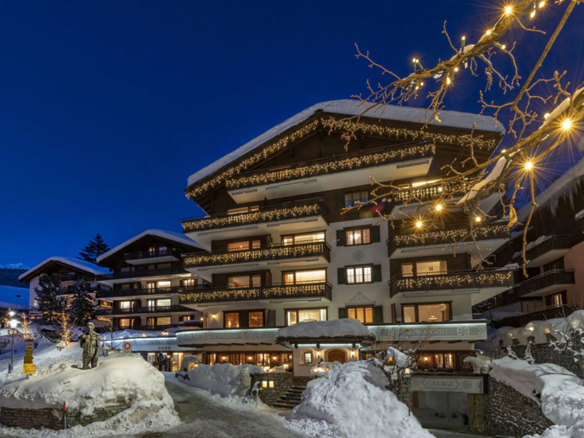 Hotel Alpina, Winter