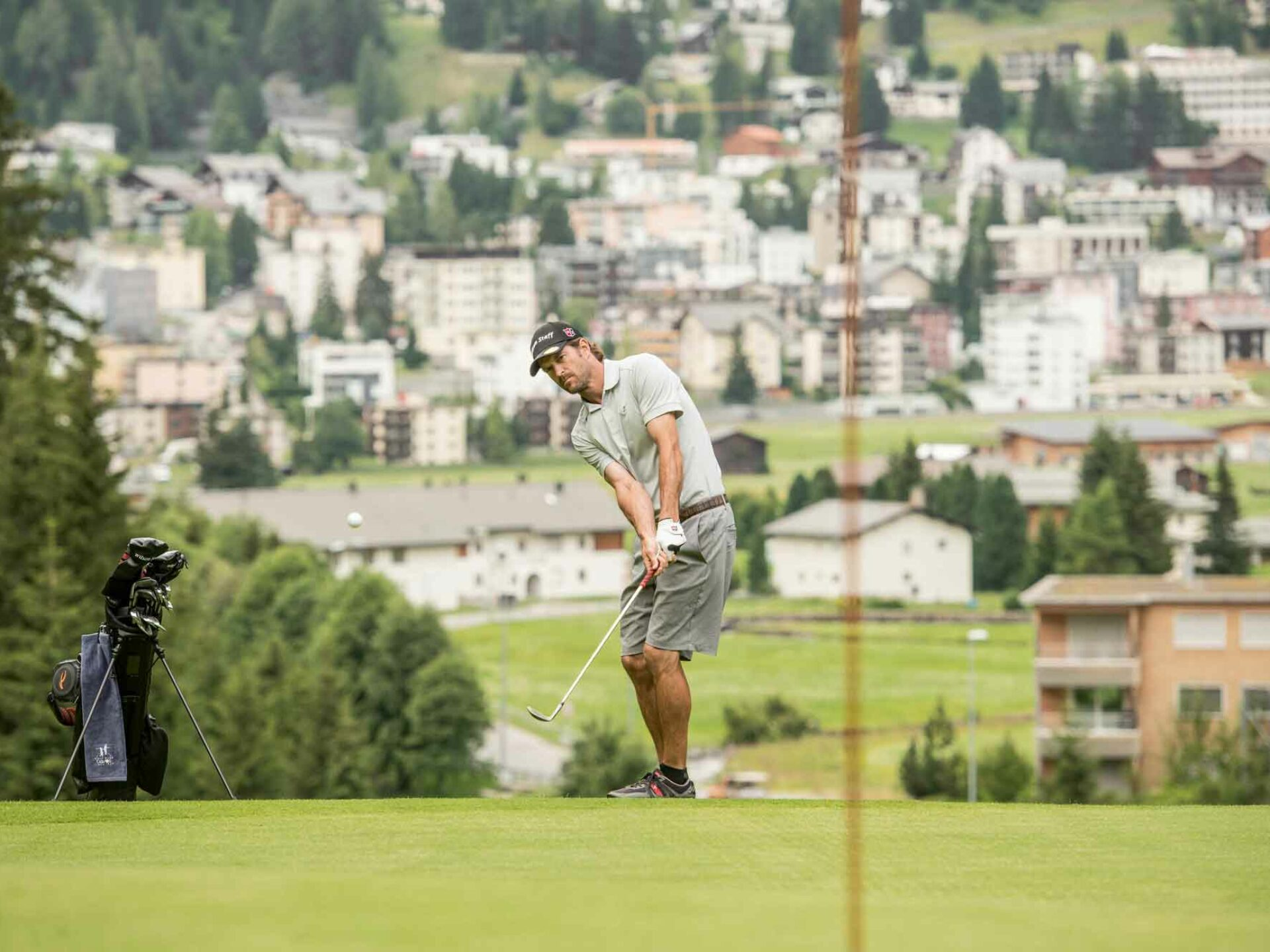 Davos Klosters - summit meeting for golfers