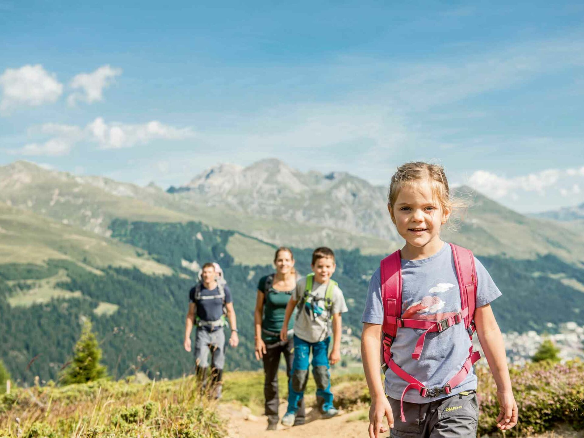 Hiking holidays for the whole family