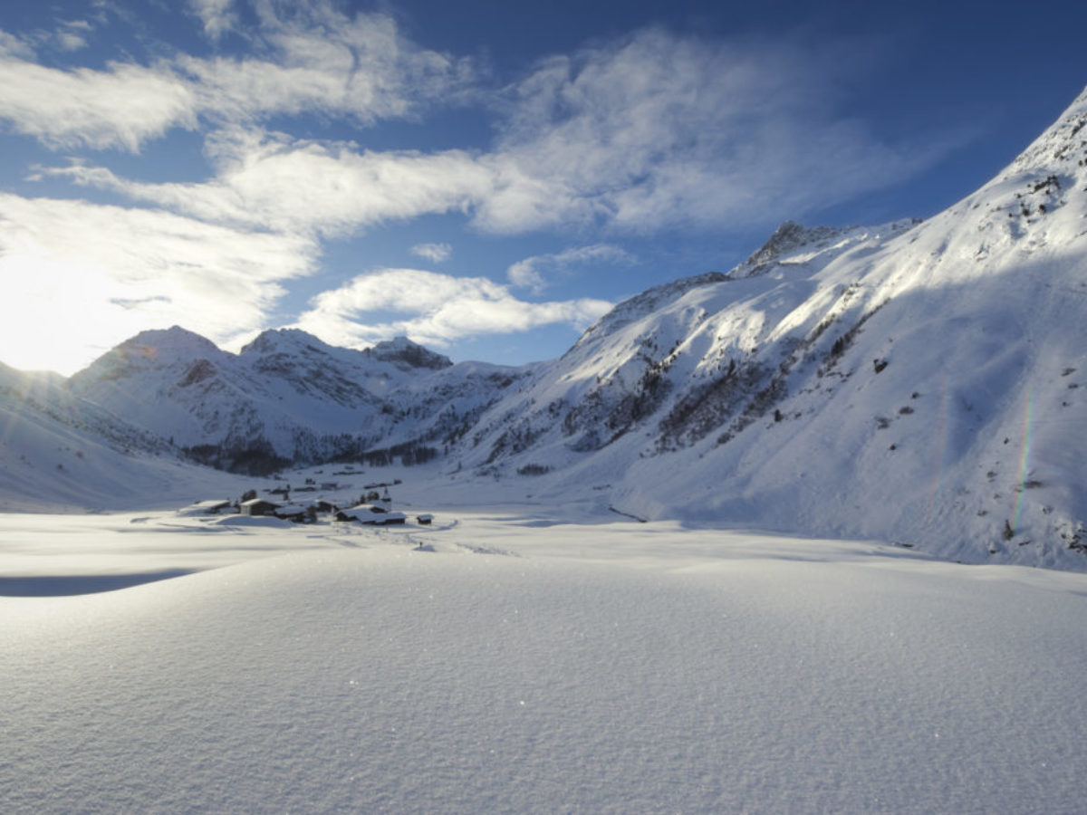 Winterurlaub in Klosters